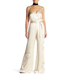 Again - Genuine Silk Quartz Jumpsuit - Lyst