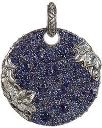 Stephen Dweck - Sterling Silver & Iolite Detail Pendant - Lyst