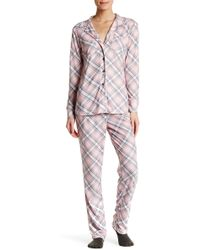 Love+Grace - Cassie Pretty In Plaid Pj - 2-piece Set - Lyst