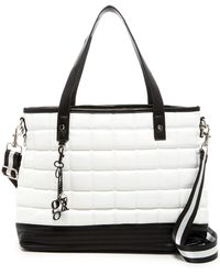 Gx By Gwen Stefani - Lynette Faux Leather Quilted Tote - Lyst