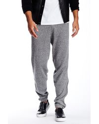 Quinn - Carlyle Cashmere & Genuine Leather Jogger - Lyst