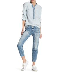 Big Star - Alex Mid Rise Ankle Skinny Jean - Lyst