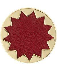 House of Harlow 1960 - Genuine Leather Sunburst Ring - Lyst