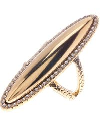 House of Harlow 1960 - Geodesic Oval Ring - Size 6 - Lyst
