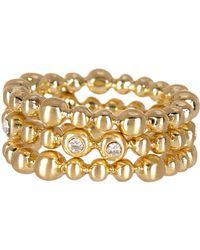 Karen Kane - Summer Solstice Ring Set - Size 6 - Lyst