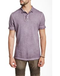 Rogue State - Zip Collar Polo - Lyst