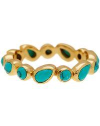 Melinda Maria - Isla Turquoise Stacking Ring - Size 7 - Lyst