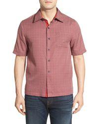 Nat Nast - 'cohiba' Regular Fit Short Sleeve Short Shirt - Lyst