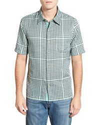Nat Nast - 'montecristo' Regular Fit Silk & Cotton Sport Shirt - Lyst
