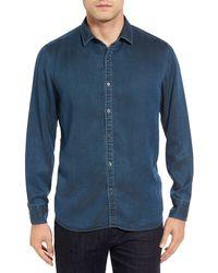 Robert Barakett - Garth Denim Sport Shirt - Lyst
