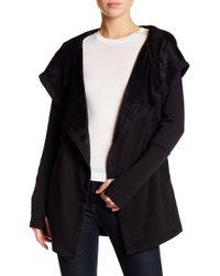 Blanc and Noir - Hooded Fleece Jacket - Lyst