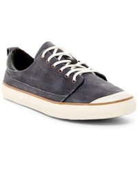 Reef - Walled Low Leather Lace-up Trainer (women) - Lyst