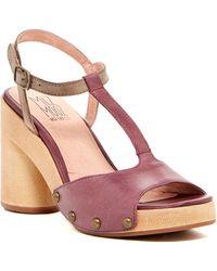 Miz Mooz - Rhonda T-strap Sandal - Lyst
