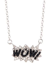 Ariella Collection - Wow Necklace - Lyst
