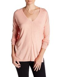 Valette - Easy V-neck Sweater - Lyst