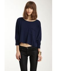 American Apparel | Boxy Long Sleeve Tee | Lyst