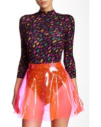 American Apparel - Printed Ryder Bodysuit - Lyst