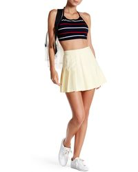 American Apparel - Gabardine Pleated Tennis Skirt - Lyst