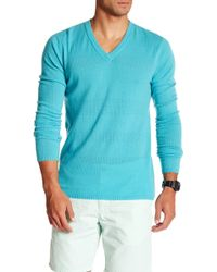 Autumn Cashmere - Perforated V-neck Cashmere Sweater - Lyst