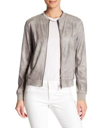 Blanc and Noir - Faux Suede Jacket - Lyst