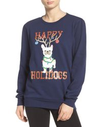 Cozy Zoe - Holiday Sweatshirt - Lyst
