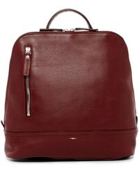 Shinola - Mini Zip Leather Backpack - Lyst