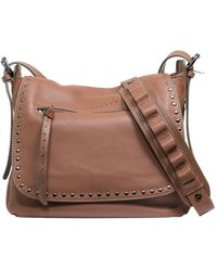 Sanctuary - Leather City Saddle Flap Shoulder Bag - Lyst
