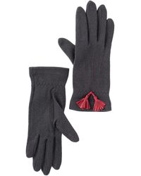 Vincent Pradier - Tassel Wool Gloves - Lyst