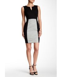 NYDJ - Madison Colorblock Sheath Dress - Lyst