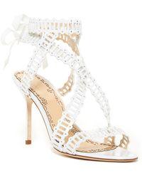 ed93f1f74a Lyst - Marchesa Sarah Dress Sandal in White