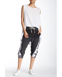 Spenglish - Tie Dye Crop Sweatpant - Lyst