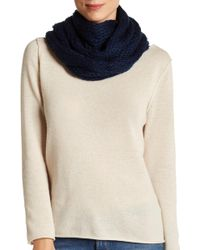 Rampage - Ribbed Fringe Scarf - Lyst