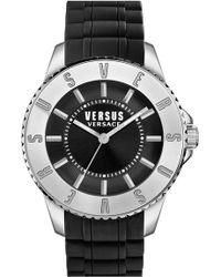 Versus - Men's Tokyo Rubber Strap Watch - Lyst