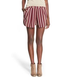 Blu Pepper | Stripe Shorts (juniors) | Lyst