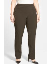 Sejour - Ela Modern Fit Pant (plus Size) - Lyst