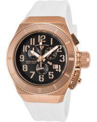 Swiss Legend - Men's Trimix Diver 2.0 Chrono White Silicone Watch - Lyst