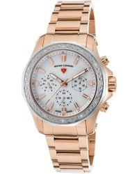 Swiss Legend - Women's Islander Diamond Multi-function Sport Bracelet Watch - Lyst