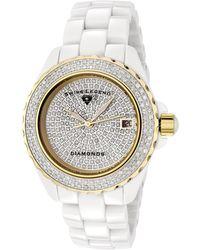 Swiss Legend - Women's Diamond Luxury Watch - Lyst