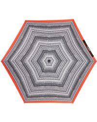 Steve Madden - Chevron Folding Umbrella - Lyst
