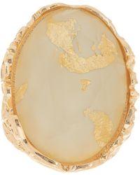 Steve Madden | Shimmer Stretch Stone Ring | Lyst