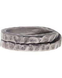 Steve Madden - Crisscross Ring - Lyst