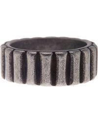 Steve Madden - Barrel Ring - Lyst