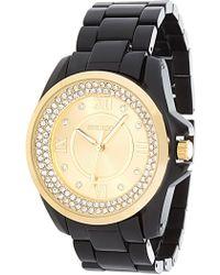 Steve Madden - Women's Analog Crystal Bracelet Watch - Lyst