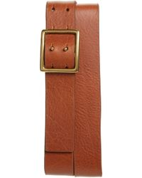 Caputo & Co. - Leather Belt - Lyst