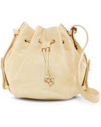 Skagen | Mini Ibsen Leather Bucket Bag | Lyst