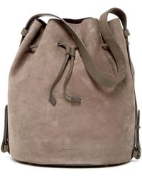 Skagen - Mette Leather Bucket Bag - Lyst