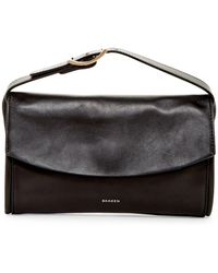 Skagen - Josefa Leather Clutch - Lyst