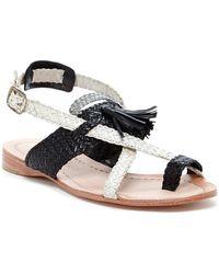 Sheridan Mia - Sublime Tassel Woven Flat Sandal - Lyst
