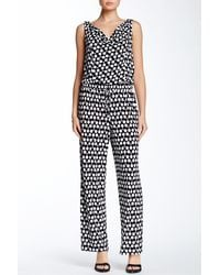 Maggy London - Polka Dot Jumpsuit (petite) - Lyst