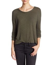 Lush - Long Sleeve Sweater - Lyst